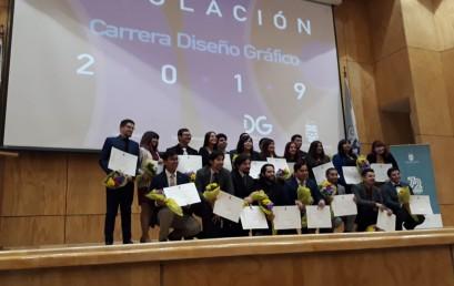 Titulación promoción 2014-2018 Diseño Gráfico