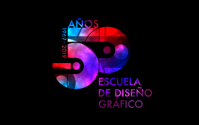 Programa de Conmemoración 50 años Diseño Gráfico UBB 1969-2019